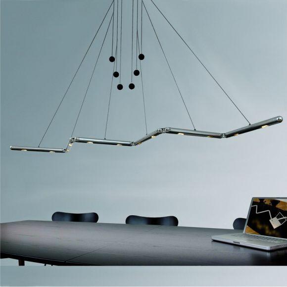 Basis LED-Pendelleuchte Genua 130cm, nicht dimmbar