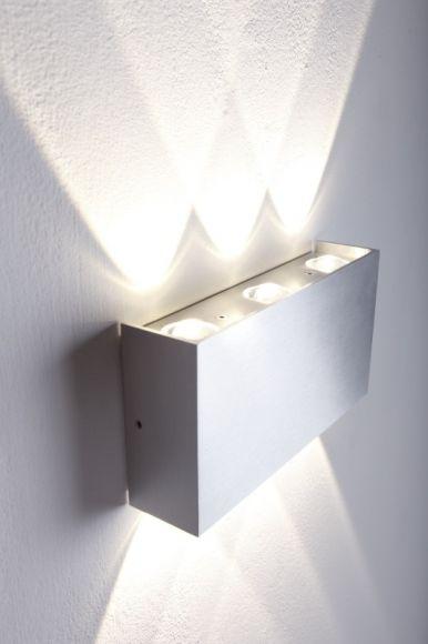 LED Wandleuchte Aluminium Lampe Leuchte Wandlampe Deckenlampe Industrie Spot