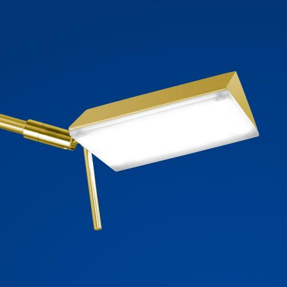 B-Leuchten LED-Leseleuchte Sitten in gold