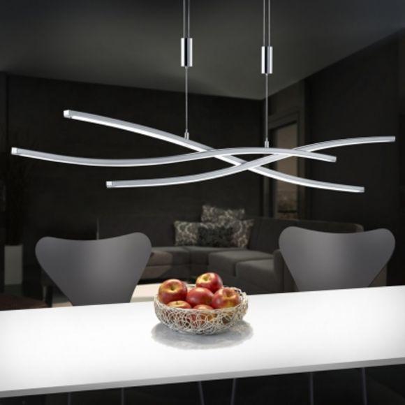 B-Leuchten LED-Pendelleuchte Melide