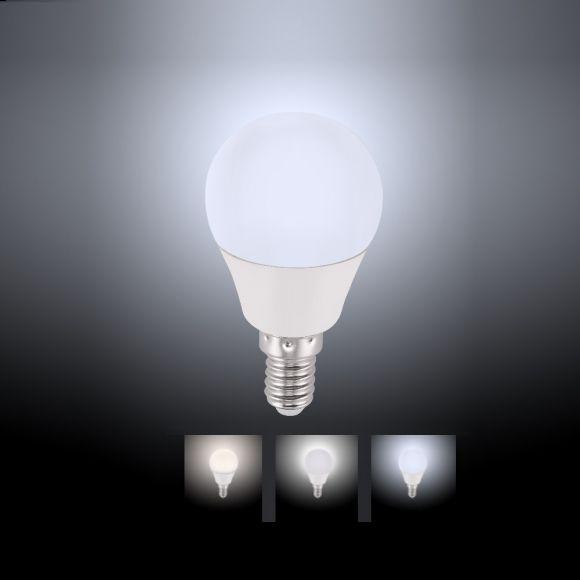 D45 E14 LED-Leuchtmittel 4W CCT-Lichtmanagement inkl Fernbedienung
