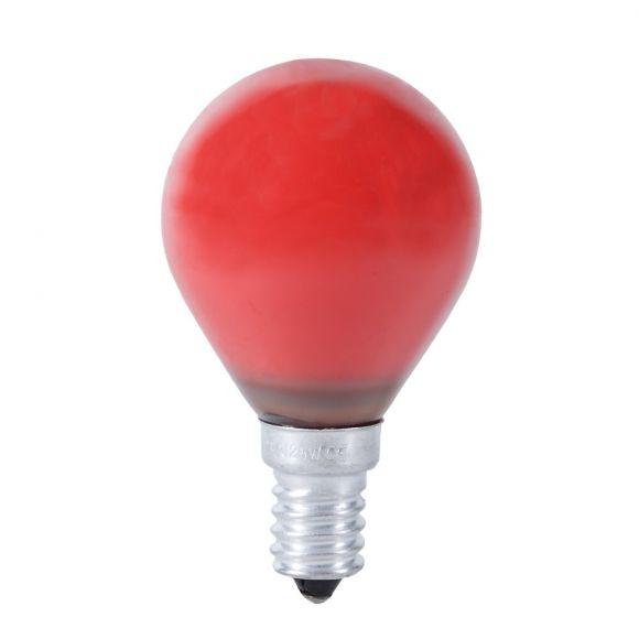 d45 tropfen 25 watt e14 in rot wohnlicht. Black Bedroom Furniture Sets. Home Design Ideas