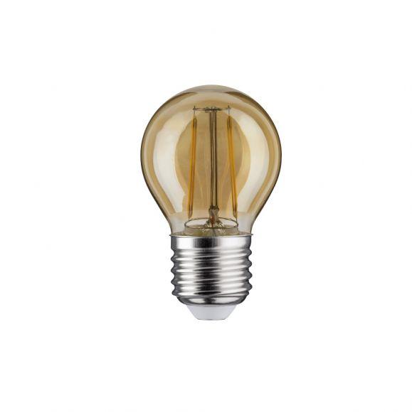 E27 D45 LED Tropfen gold 4,5W 2700K, 400lm