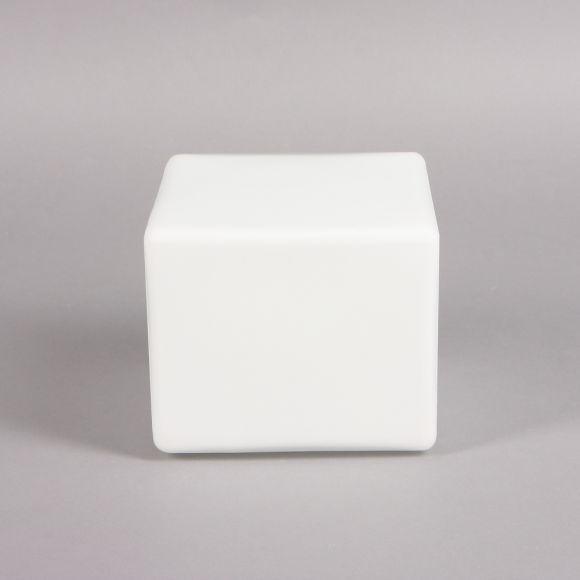LHG Ersatzglas Geometrische Formgebung weiß