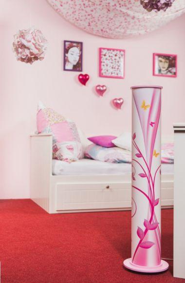 Kinderzimmer Standleuchte Phantasie in rosa oder grün