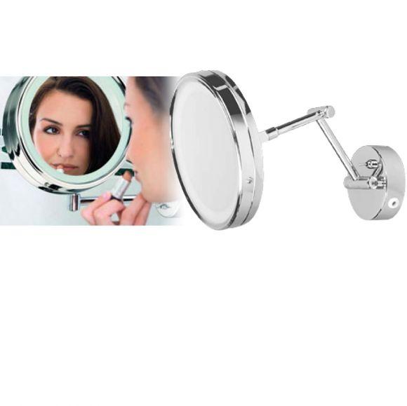 Kosmetik Spiegelleuchte Aquatic  Chrom