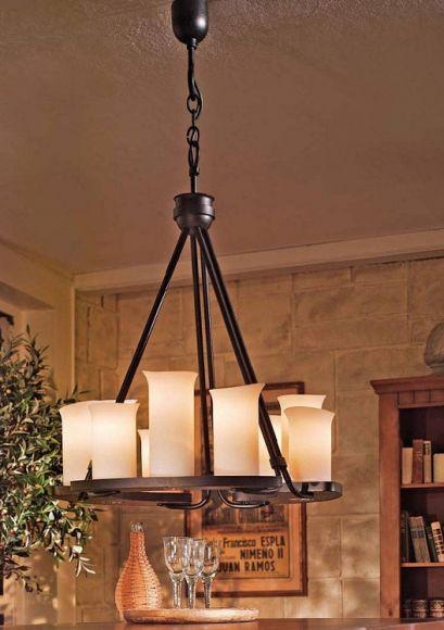 antike pendelleuchten lampen landhausstil