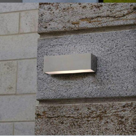 LED Außenwandleuchte Up & Down, Edelstahl, inkl. Leuchtmittel, IP44