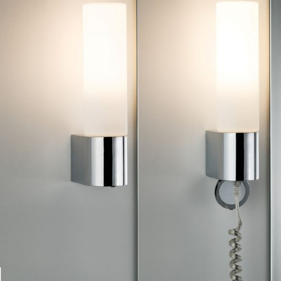 LED Badezimmer Wandleuchte Elektra mit Steckdose