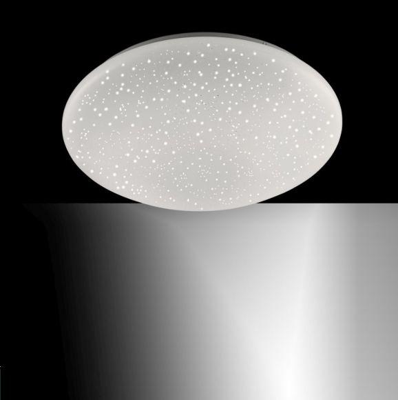 LED Deckenleuchte, Sternenhimmel, rund, warmweiß, D=25 o. 35cm