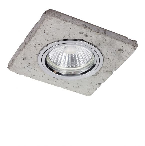 LED Deckenstrahler aus Beton inkl. 4,5W