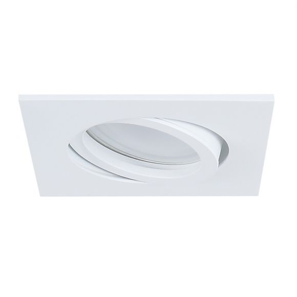 LHG LED Einbauleuchte, 1er Set, weiß, eckig, schwenkbar, inkl LED 5W