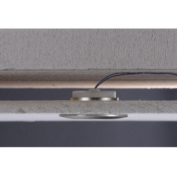 LED Einbaustrahler, Aluminium, spritzwassergeschützt, Dimmbar