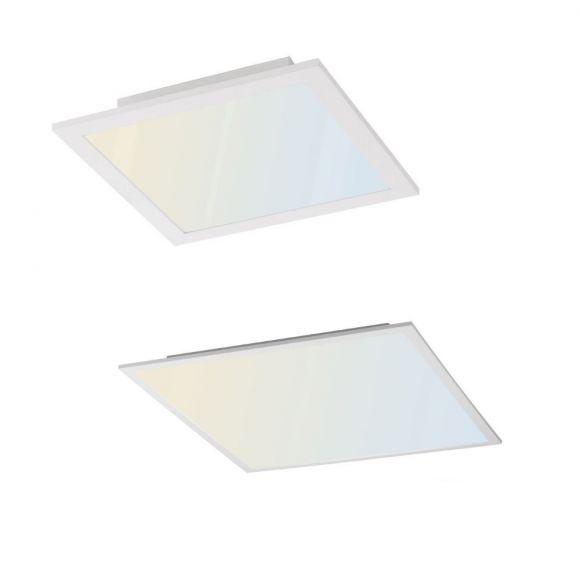 LED Panel, Deckenleuchte, Smart Home, CCT, 30x30cm o. 62x62cm