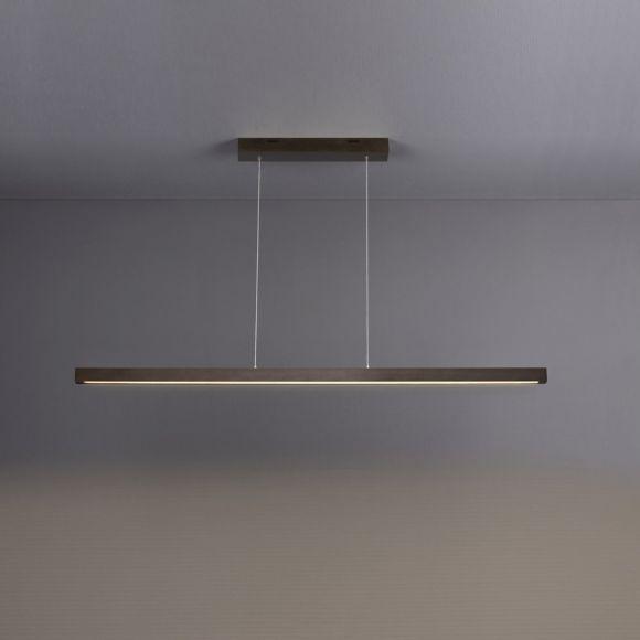 Retro Hängeleuchte Wohnzimmer Decken Pendelbeleuchtung Dielenlampe Höhe 120 cm