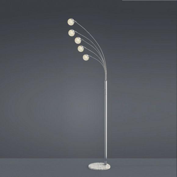 LED Stehleuchte Chris Acryl mit Kristalleffekt