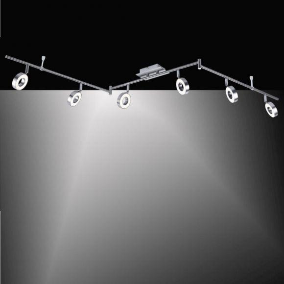 LED Strahlerbalken Lukas - 6fl. Schwenkbar