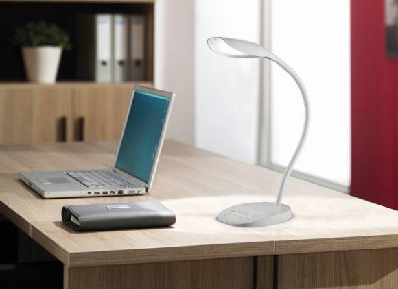 LED Tischleuchte Swan - Weiß oder Schwarz