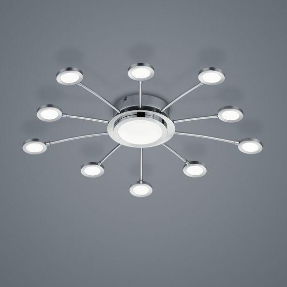 2 LED Deckenleuchten Fernbedienung dimmbar Farbwechsel Nachtlicht Deckenstrahler