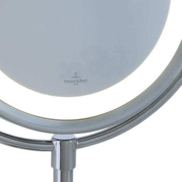 led kosmetikspiegel batteriebetrieben mit 5 fach vergr erung wohnlicht. Black Bedroom Furniture Sets. Home Design Ideas