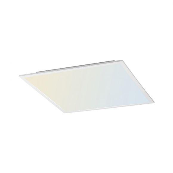 LED-Panel 33W 62x62cm, Funkfernbedienung, CCT-Lichtmanagement