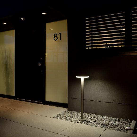 LED-Pollerleuchte in verschiedenen Farben