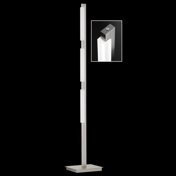 LED-Standleuchte Jim mit Tastdimmer, 150 cm