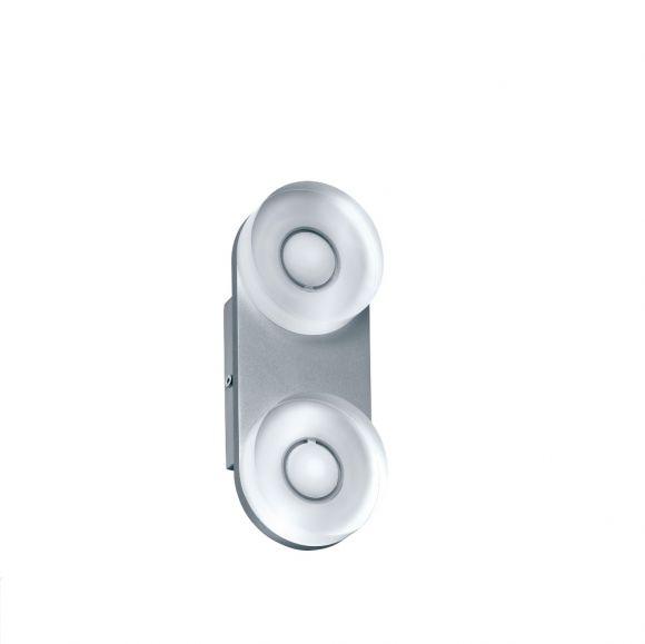 LED-Wandleuchte aus rostfreien Materialien, mit IP-Schutz inklusive 9W Watt  LED, 3000 K warmweiß