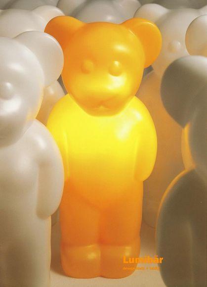 Lumibär stehend, in verschiedenen Farben, mit Schutzart IP20 für Indoor
