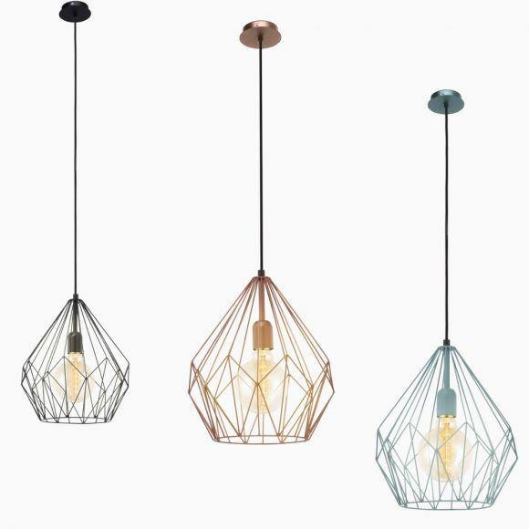 Pendelleuchte im Industrie-Design - 3 Farben