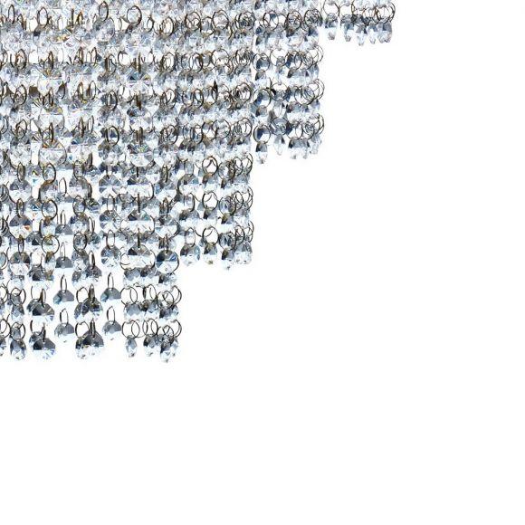 Pendelleuchte Louis Philipe im Empire Stil aus Kristallglas