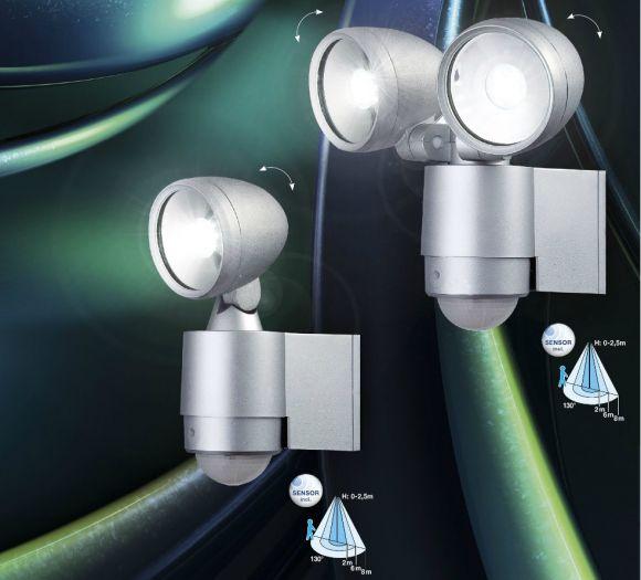 Sensor LED Wandstrahler  Radiator II