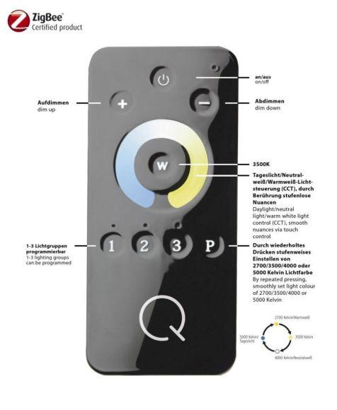 Smart Home Deckenleuchte Q®-Orbit, 2 Varianten