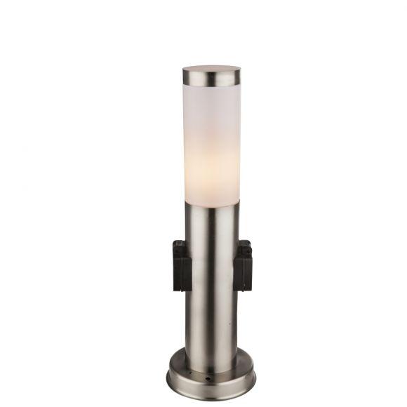 Außen Edelstahl Led 7 Watt Lampe Steh Stand Leuchte Höhe 45