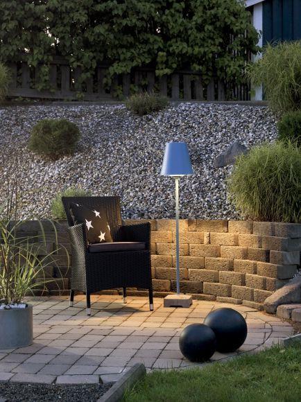 Stehleuchte Lucca für den Außenbereich - 4 Farben