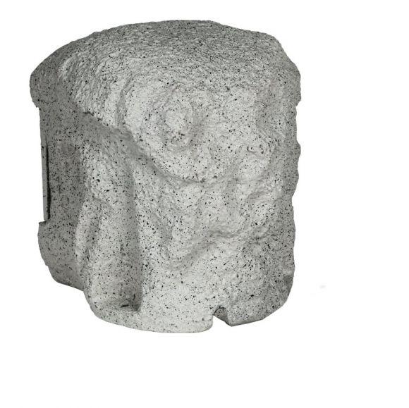 Steinoptik 4fach Verteilersteckdose Piedra