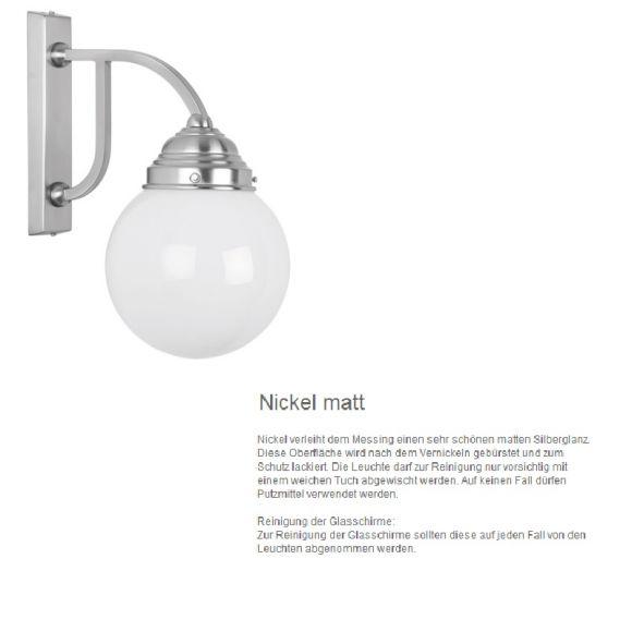 Teleskop Pendelleuchte in Nickel-matt mit glänzenden oder satinierten Gläsern