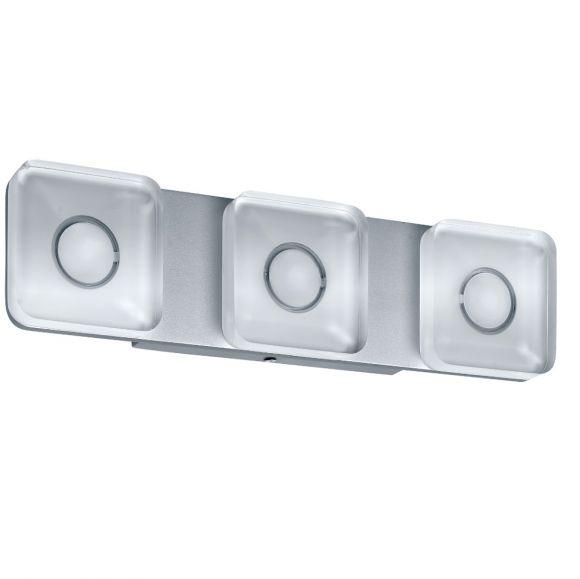 Wand- und Spiegelleuchte eckig, 13,5 W LED