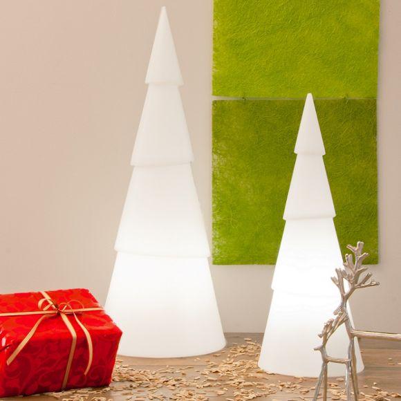 Weihnachtsbäumchen in 3 Höhen, inklusive 6Watt LED