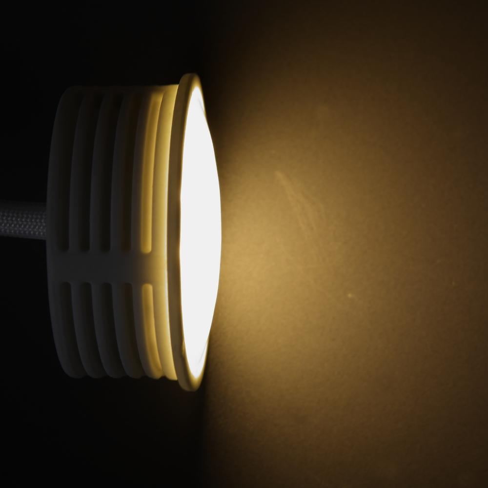 LHG LED Einbaustrahler, 5er Set, rund, schwenkbar, schalterdimmfähig
