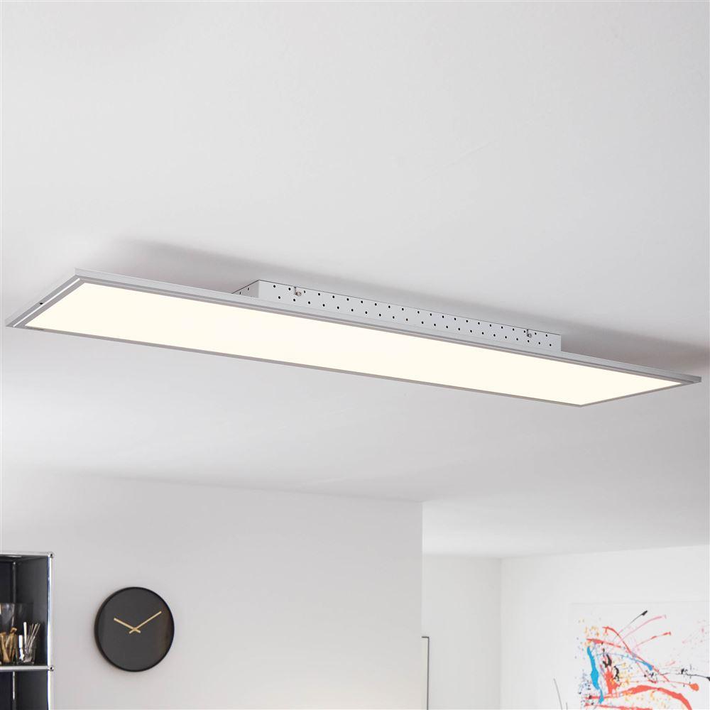 LED Panel, Aufbau-Deckenleuchte, Smart Home, 120 x 30 cm, dimmbar