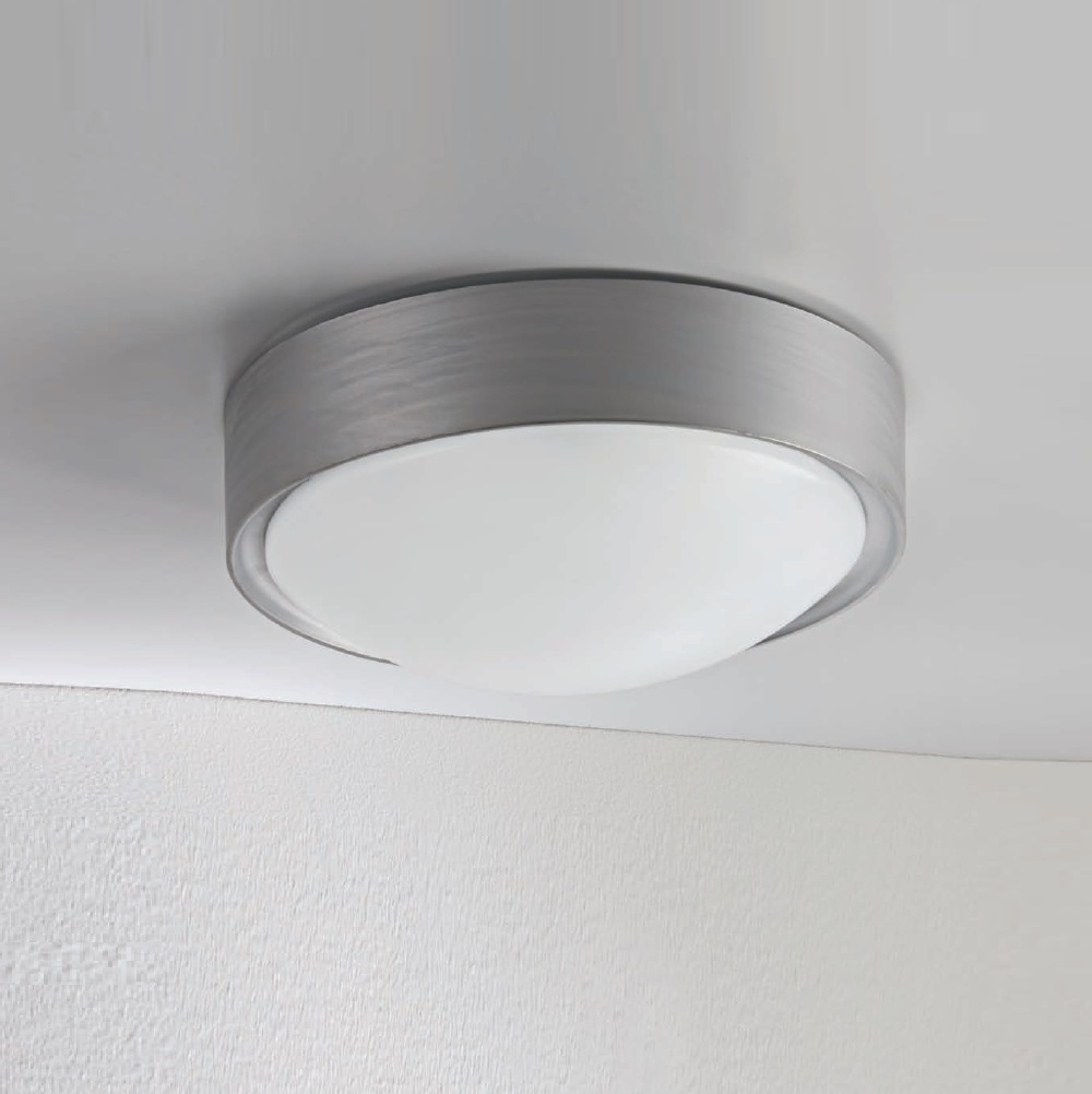 LED-Deckenleuchte Cover, rund in Weiß oder Grau wählbar