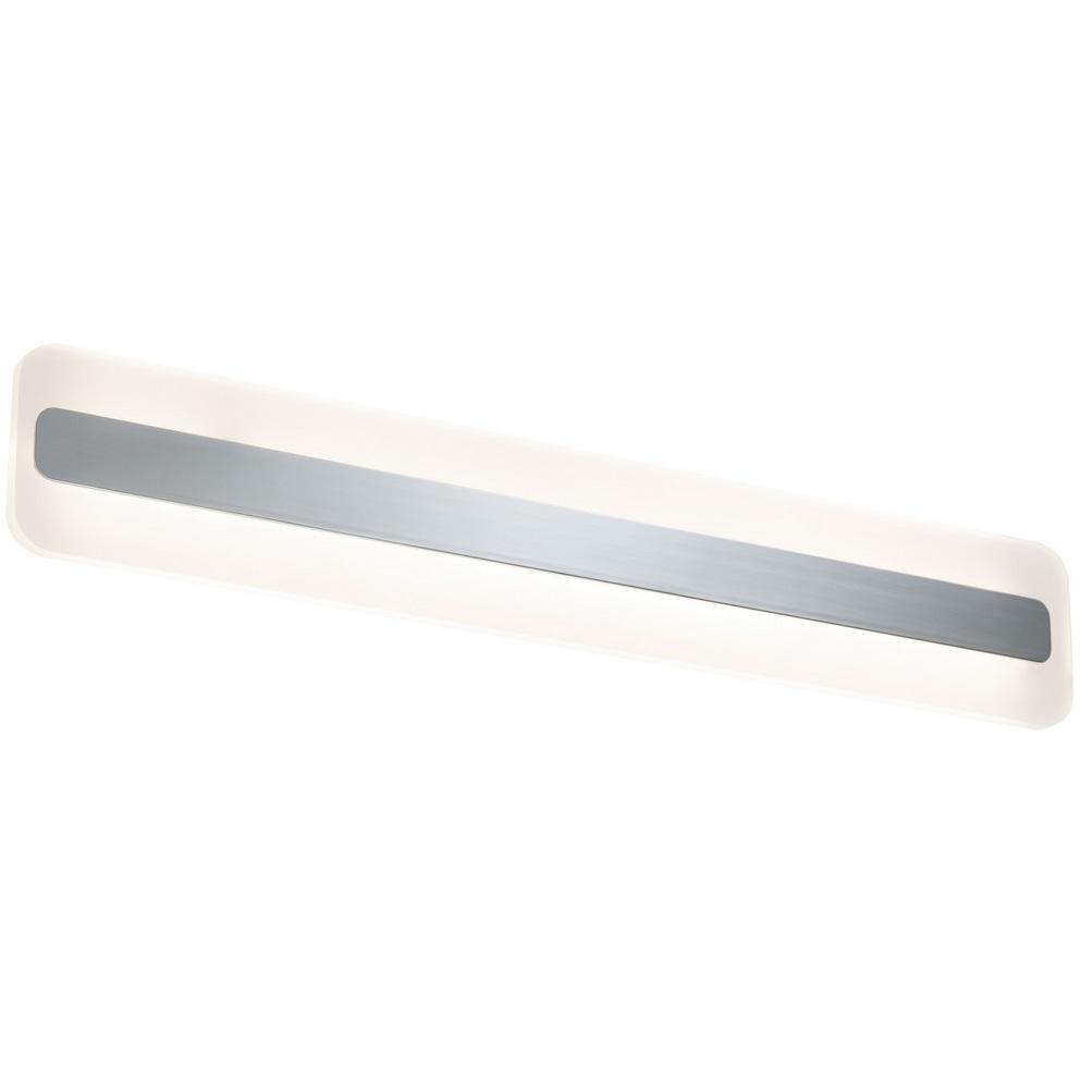 LED-Spiegelleuchte Alu und Acryl, IP44-Schutz, inklusive 9Watt