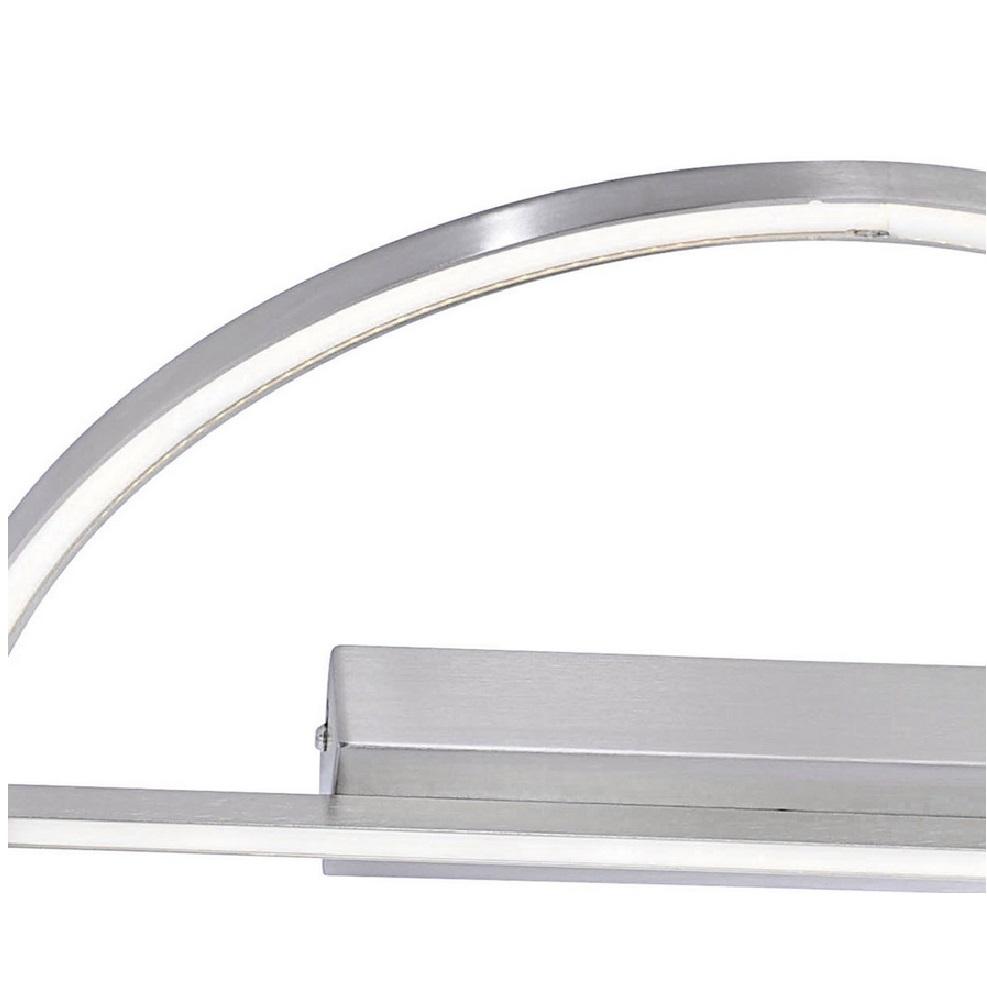 Moderne LED-Deckenleuchte Ø 44cm - Stahl/Acrylglas - inklusive 28Watt LED - warmweißes Wohnlicht, 3000K, 2448Lumen