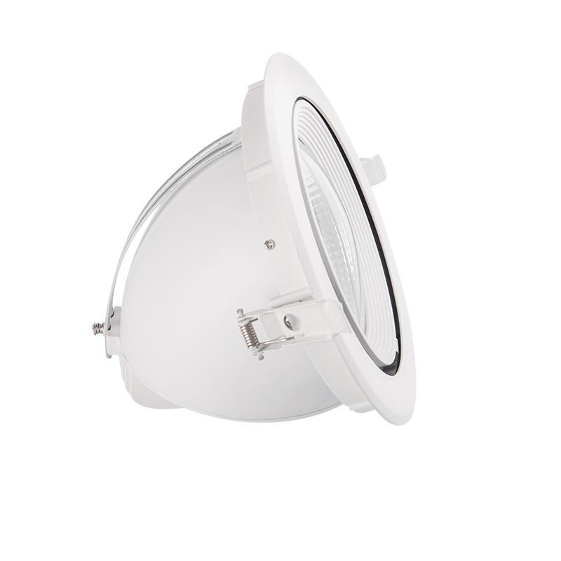 Schwenkbarer LED Einbaustrahler in Weiß