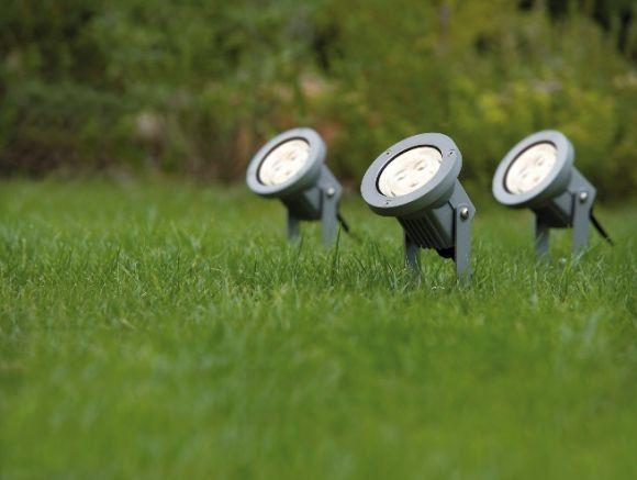 3er Set LED-Erdspießstrahler Special Line Garden