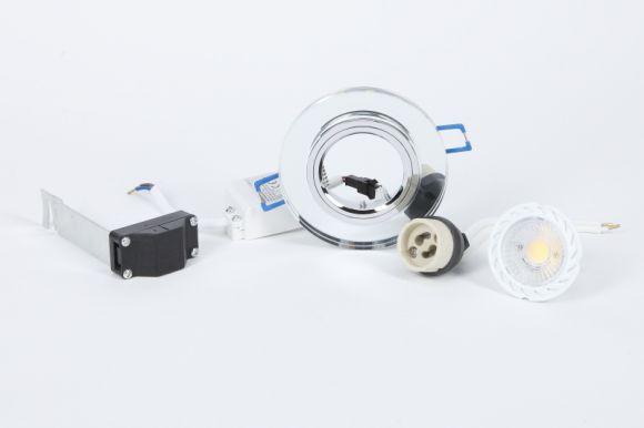 LHG 3-er Set Einbauspot mit GU10 7W