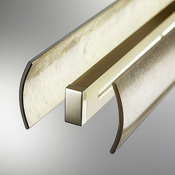 B+M LED-Pendelleuchte Fosco gold - 2 Größen
