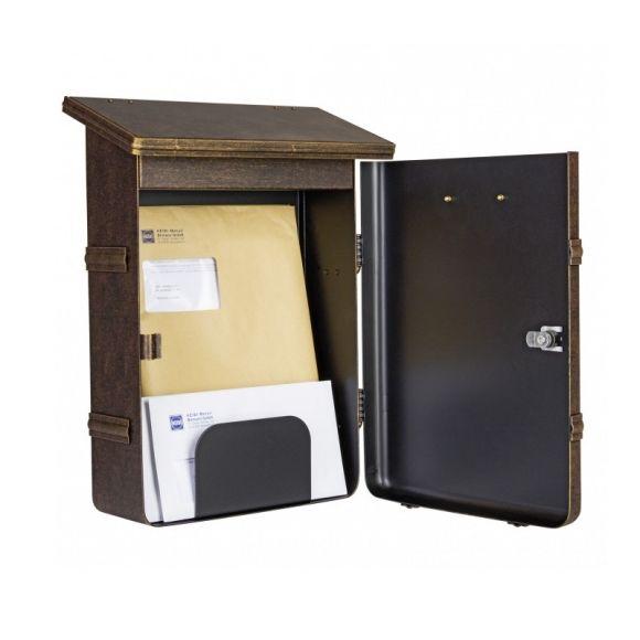 Briefkasten Ecaro in 3 Farben, 33x15cm
