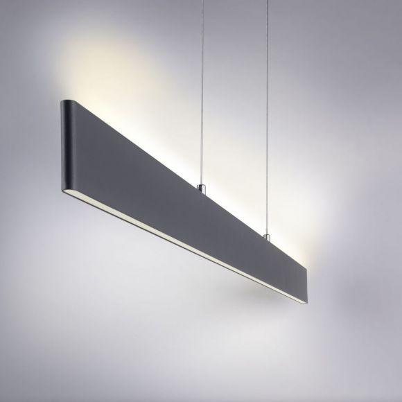 Dimmbare höhenverstellbare LED Pendelleuchte inkl Fernbedienung und CCT-Lichtfarbsteuerung